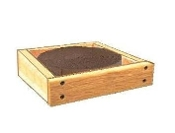 Wooden Framed Cat Scratcher