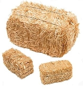 Dry, Dust-Free, Indiana Grown Straw Bedding