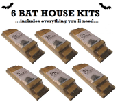6 ARK WORKSHOP BAT HOUSE KITS