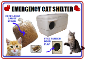 Medium size Emergency Cat Shelter Home