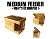 Medium Size Feeding shelter right side enter